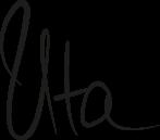 Unterschrift Uta