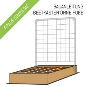 beetkasten 120 x 120cm der geniale gem segarten. Black Bedroom Furniture Sets. Home Design Ideas