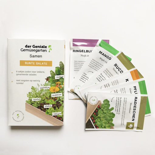 Der geniale Gemüsegarten: Bunte Salate
