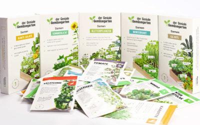 Das Samenpaket für den Genialen Gemüsegarten
