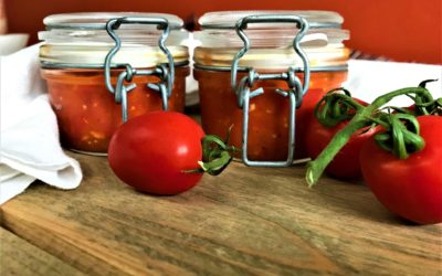 Making of: Tomatensauce mit Sel de Guerande