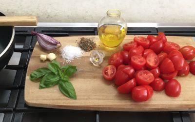 Toskanische Tomatensauce aus GG-Tomaten